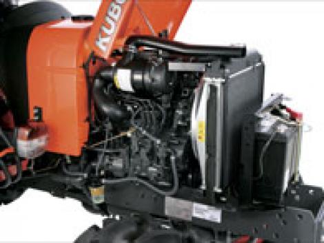 Megbízható és takarékos kompakt traktor a Kubotától