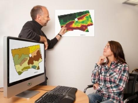 Talajmintavételek tervezése és végrehajtása Talking Fields (TF) térképek segítségével