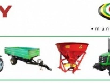 CHERY traktorok és GardenGo munkaeszközök gépbemutatója
