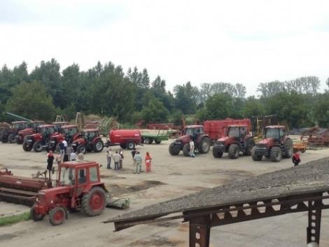 Új Case IH Puma és Farmall traktorok átadása - Mihályi Agrár Zrt. 2014 (+Videó!)