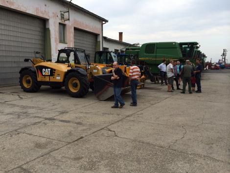 Kite Zrt. mezőgazdasági gépvásár első napja