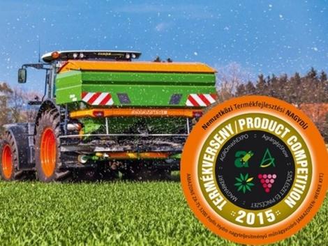 Termékfejlesztési Nagydíjjal ismerték el az AMAZONE műtrágyaszóró újdonságát
