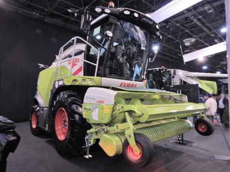 Önjáró silózók az AGROmashEXPO/AgrárgépSHOW kiállításon