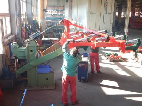 Látogatás a Vogel & Noot törökszentmiklósi gyárában