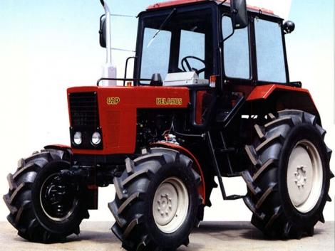 Speciális Belarus MTZ traktorok a múltból