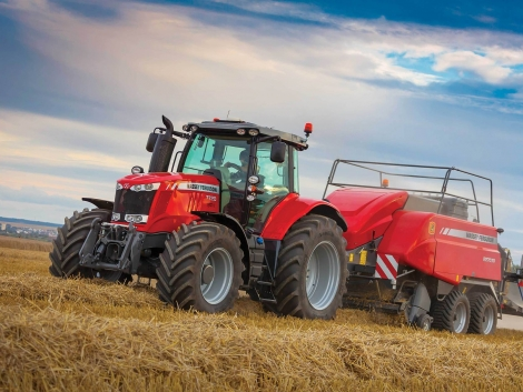 Új traktorsorozat a Massey Ferguson-tól