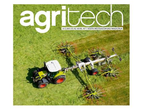 Itt az AXIÁL Kft. új Agritech magazinja!