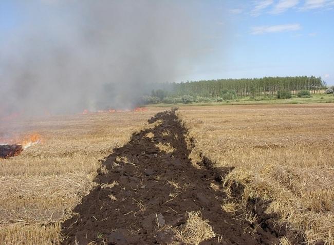 Ne játsszunk a tűzzel aratáskor se!