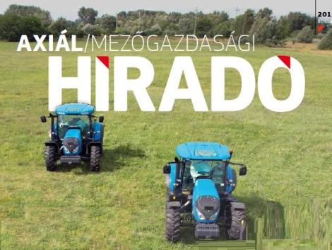 Megjelent a legújabb AXIÁL Mezőgazdasági Híradó!