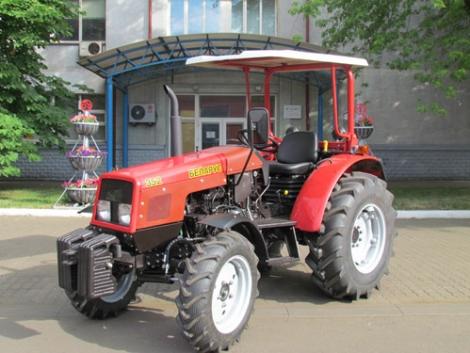 Kíváncsi, hogy milyen az új MTZ kistraktor? Megmutatjuk!