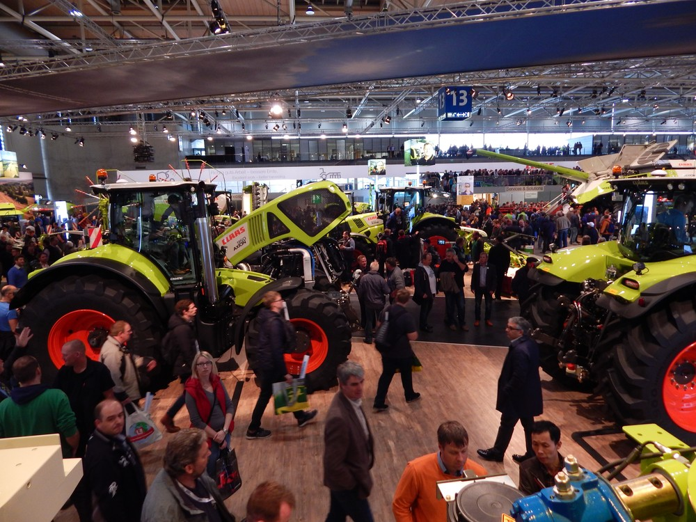 CLAAS stand - Agritechnica 2015