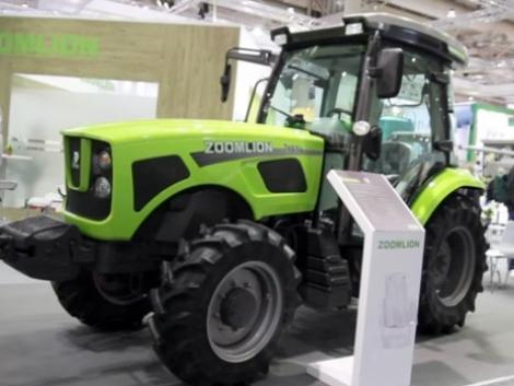 ZOOMLION-Chery traktorok: Meglepő és lenyűgöző gépek az Agritechnicán  (+Videó!)