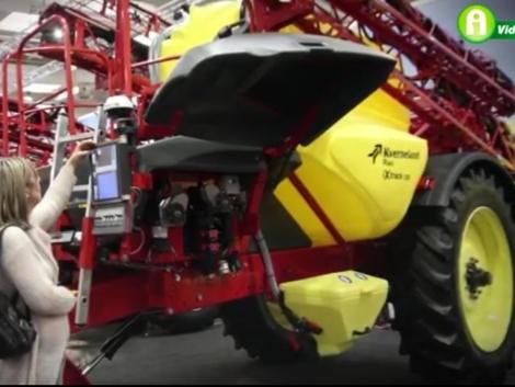 Kverneland eke, vetőgép és önjáró permetezőgép az Agritechnicán (+Videó!)