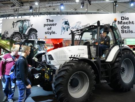 A traktor, ami nem csak szép – Lamborghini Trattori az idei AGRITECHNICA-n