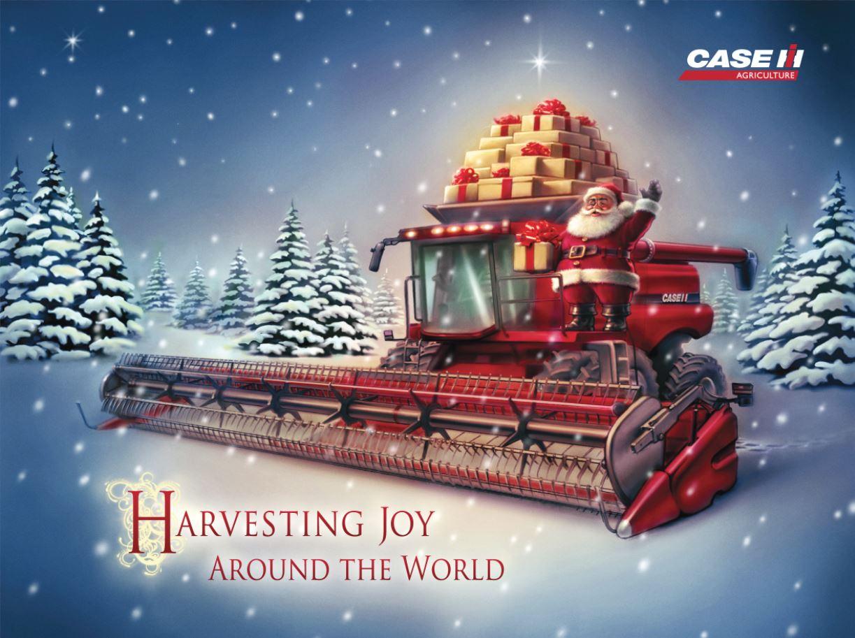 case IH kombájn karácsony