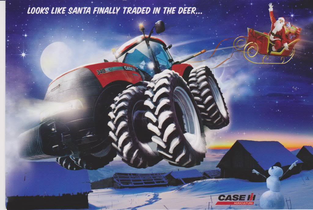 case IH karácsony