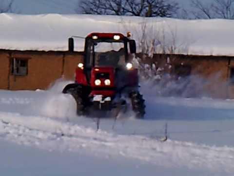 Belarus a hóban