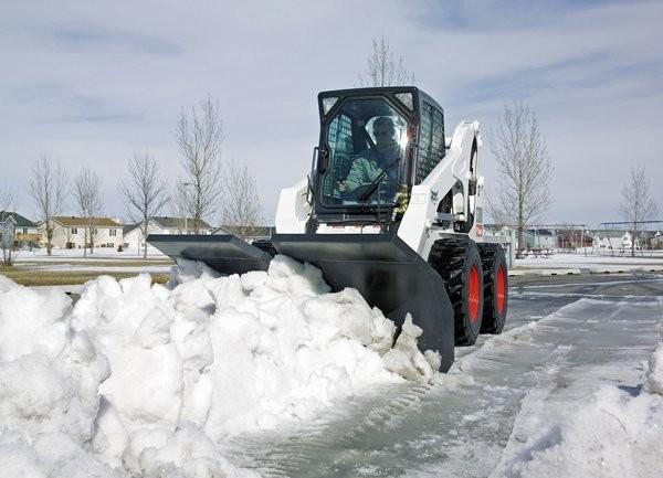 bobcat a hóban