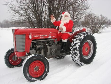 Traktorok és más gépek – karácsonyi képeslapon (+Képek!)