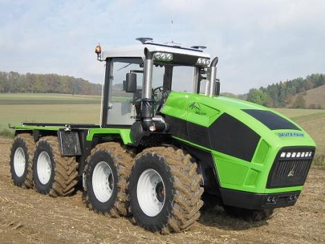 Deutz-Fahr AgroXXL traktor – a 600 lóerős szörnyeteg