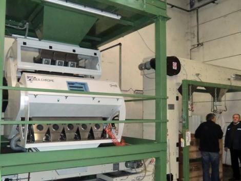 Toxinos gabona tisztítása Cimbria technológiával