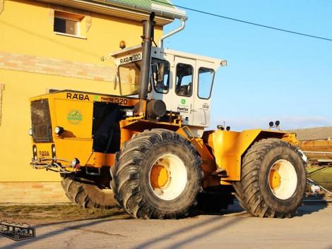 A traktorok még pihennek, de már a tavaszra várnak