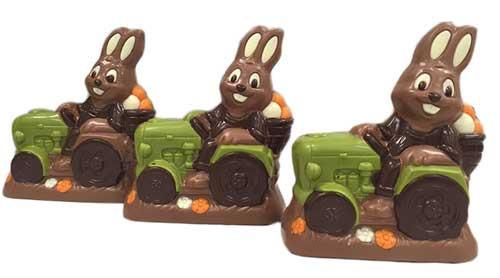 locsolóvers, csoki traktor