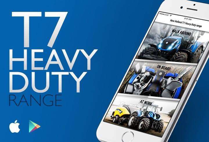 T7 New Holland app