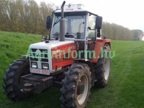 Veterán traktor piros rendszámmal – vagy kombájn olcsón!