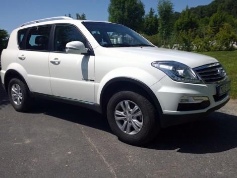 Terepjáró városra is – SsangYong Rexton DLX 4WD