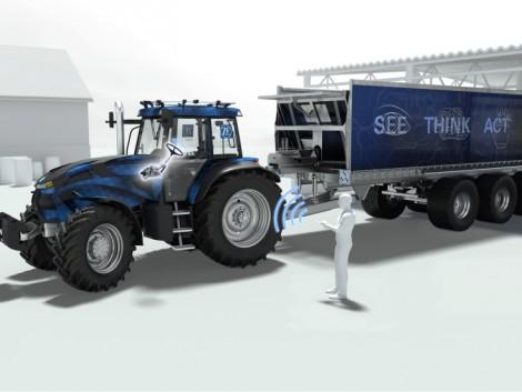 Ez a traktorújdonság már lát, gondolkodik és cselekszik is helyettünk