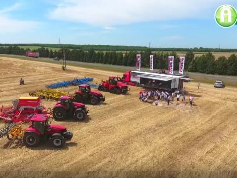 Invest Kft.: Case IH Demo Tour 2016 – ezerötszáz lóerő egy táblán! (+Videó!)