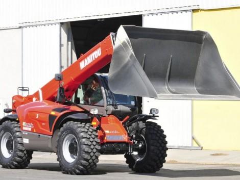 Nagyobb termelőüzemben válassza a legnagyobb Manitou rakodót