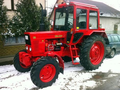 Óvjuk meg MTZ traktorunk üzemanyagrendszerét a hidegtől!