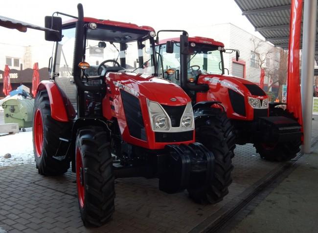 Cseh, lengyel és fehérorosz traktorújdonságok az idei AGROmashEXPO-n