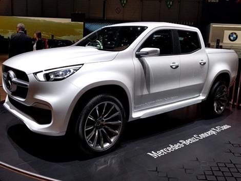Végre bemutatták a Mercedes pickup-ját! – Genfből jelentjük.