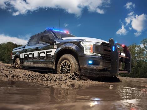 Már a rendőrök is pickup-pal üldözik a rosszfiúkat (+Videó!)