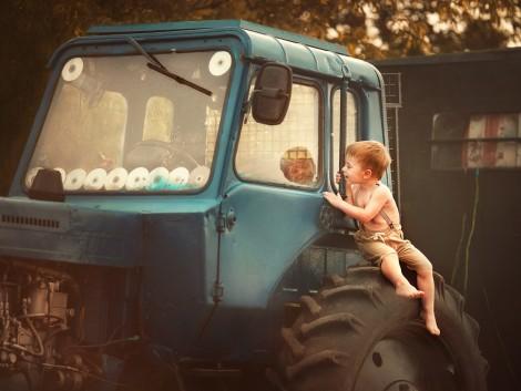 A traktorosok összetartanak a jótékonykodásban is!