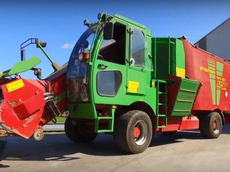 Megbízható üzem, hosszú élettartam a Strautmann önjáró takarmánykeverő-kiosztókocsival! (+Videó!)