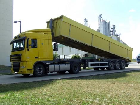 Áruszállítás kamionnal