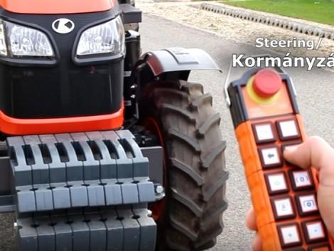 Elképesztő, mit tud ez a traktor! Ezt a videót látnia kell!