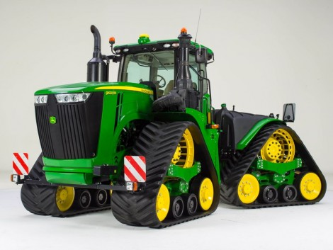 Különdíjas a John Deere 9RX 4 gumihevederes törzscsuklós traktor!