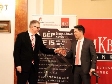 Újabb együttműködési megállapodást írt alá a MEGFOSZ és az MKB Pénzügyi Csoport