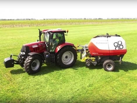 Most láttunk először ilyen traktort hazai földeken (+Videó!)