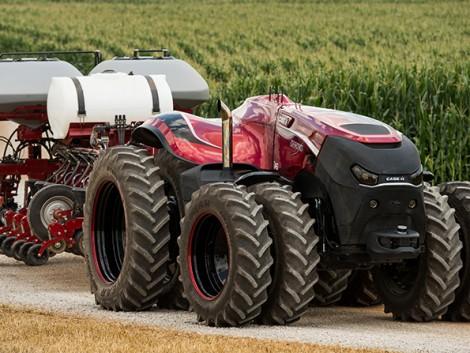 A CASE IH önműködő traktorát díjazták