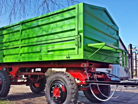 A pótkocsik a terményszállítás bajnokai