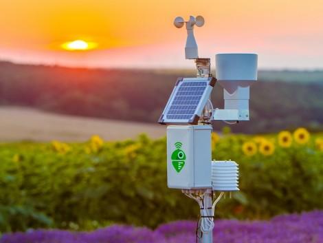 Meteorológiai állomás segítségével pontosan meghatározhatja a vetés, a betakarítás vagy a permetezés idejét!