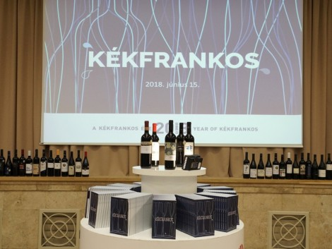2018 a Kékfrankos bor éve
