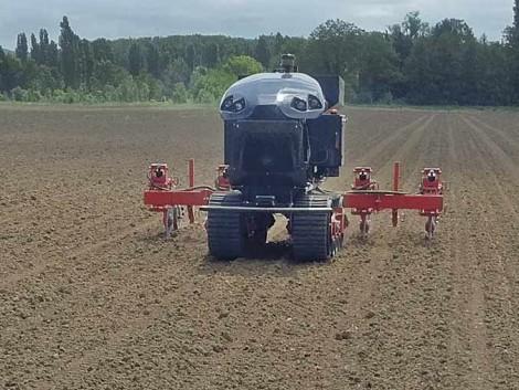 Önálló robotok 50 hektár kukoricát művelnek