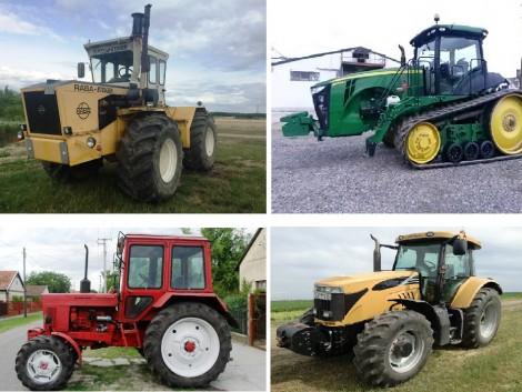 Traktorok minden mennyiségben